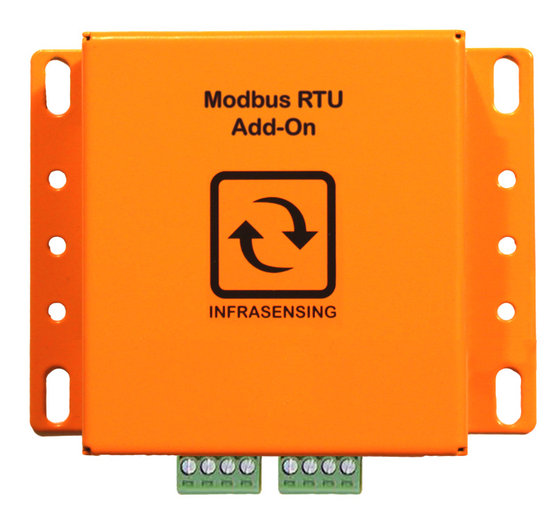 Top view of the Modbus RTU Add-On