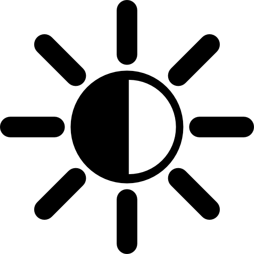 Light (lux) icon