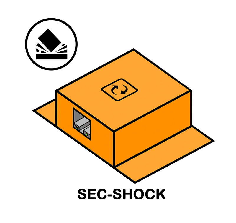 Drawing of shock sensor