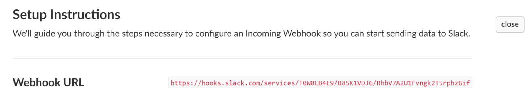Slack Integration 5  with ServersCheck
