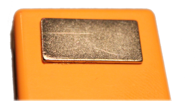 Magnet to fix wireless sensors