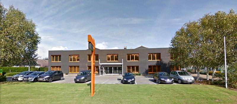 ServersCheck's office in Zaventem, Belgium